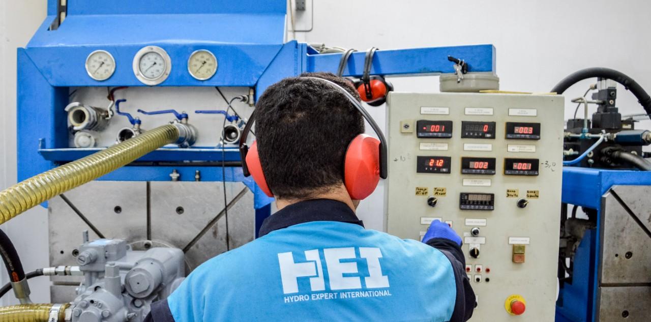 Banc d'essai - Maintenance d'équipements hydrauliques à Tunis