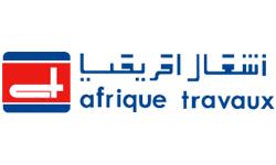 Logo Afrique Travaux, partenaire de HEI Tunisie