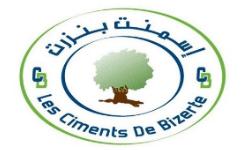 Logo Les Ciments de Bizerte, partenaire de HEI Tunisie