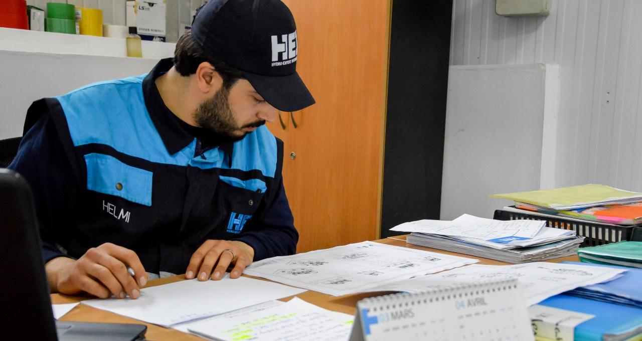 Etude de plans HEI Tunis solutions hydrauliques