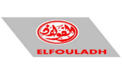 Logo Elfouladh sidérurgie, partenaire HEI Tunisie