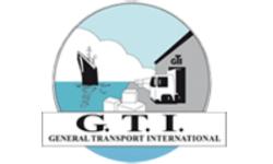 Logo GTI General Transport International, partenaire HEI Tunisie